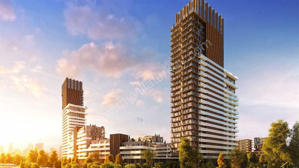 Sea View Apartments In Izmir For Sale